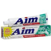 72 Units of Aim Baking Soda 5.5 Oz. - Toothbrushes and Toothpaste