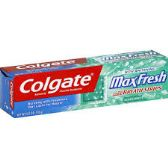 24 Units of Colgate Max Fresh 7.8 Oz. - Toothbrushes and Toothpaste