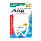 48 Units of Aim Dental Floss 120 Yard - Toothbrushes and Toothpaste
