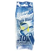 72 Units of 10 Count 2-blade men razor