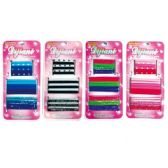 96 Units of 18 Piece hair band - PonyTail Holders