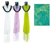 69 Units of Scarf Assorted Colors 20x60""