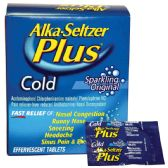 6 Units of Alka seltzer plus 40 count - Pain and Allergy Relief
