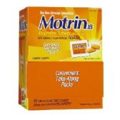 6 Units of Motrin 50 count - Pain and Allergy Relief
