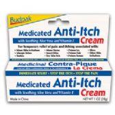 72 Units of Budpak medicated antiitch 1oz