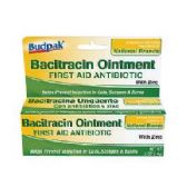 72 Units of Budpak bacitracin 0.5oz - Skin Care
