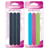 96 Units of 3 Pack nail file