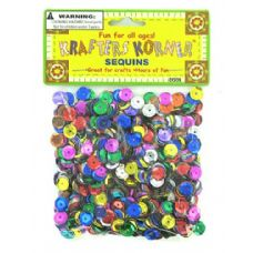 72 Units of Assorted colors sequins