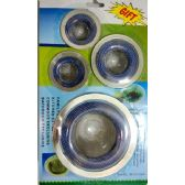 60 Units of 4pc assorted size Strainer