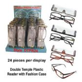72 Units of Reading glasses assorted