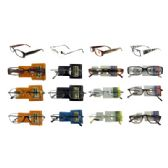 24 Units of Fashion Readers Assorted High End Reading Glasses