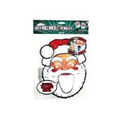 72 Units of Talking Headz Santa Moving Mouth Mask - Party Hats & Tiara