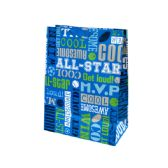 72 Units of Boys Sports Words Mega Gift Bag - Gift Bags