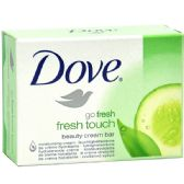 96 Units of Dove soap fresh touch 135g