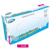 48 Units of 30 Pack vinyl glove/Small