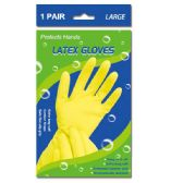 96 Units of Latex gloves/Large