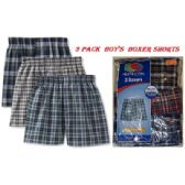 24 Units of FRUIT OF THE LOOM 3 PACK BOY'S BOXER SORTS