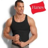 30 Units of HANES 3 PACK MEN'S COLOR A-SHIRTS ( SLIGHTLY IMPERFECT ) - Mens T-Shirts