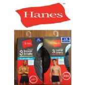 24 Units of HANES 3 PACK MEN'S BOXER BRIEFS - ( SLIGHTLY IMPERFECT