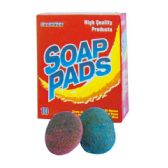 96 Units of 10 Count Soap Pads