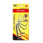 96 Units of 8 Piece hex key set - Hex Keys