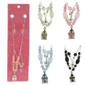 72 Units of NECKLACE EARRING SET