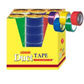 "72 Units of Duct tape 1.8""x10yd 36 Assorted Colors - Tape"