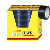"72 Units of Duct tape/black 1.8""x10 yard - Tape"
