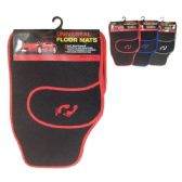 12 Units of 4 Piece car mat set