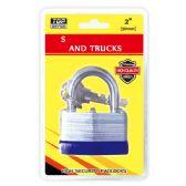 48 Units of 50mm heavy duty lock - Padlocks/Combination Locks/Brass/Iron