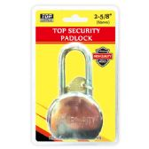 24 Units of 65mm heavy duty lock - Padlocks/Combination Locks/Brass/Iron