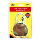 18 Units of 65mm heavy duty lock - Padlocks/Combination Locks/Brass/Iron