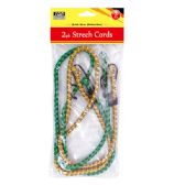 96 Units of 3 Foot 2 Piece strech cord - Bungee Cords