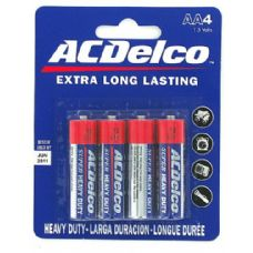 72 Units of 4 pk. 'aa' batteries - Batteries