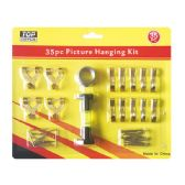 96 Units of Picture hanging kit
