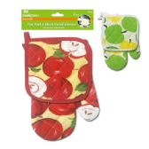 96 Units of 2 Piece oven mitt set - Oven Mits & Pot Holders