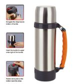 12 Units of 1.1L heat preservation Bottle
