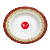 "96 Units of 10""deep melamine plate - Kitchenware"
