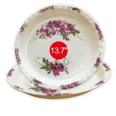 "36 Units of 13.7""melamine round tray - Kitchenware"
