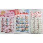 50 Units of Artificial Nails - 100/pk - Cosmetics