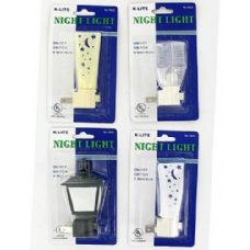 72 Units of Night light (assorted styles) - Night Lights