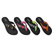 48 Units of Ladies Beach Flip Flops