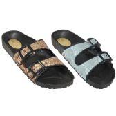 36 Units of Ladies Slip On Sandals - Women's Sandals