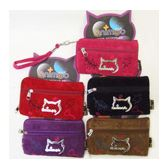 144 Units of Novelty Zipper Purse - Leather Purses and Handbags