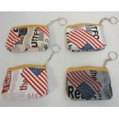 72 Units of Zippered Change Purse [Newsprint] - Coin Holders/Banks/Counter