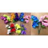 48 Units of 7 Head Peony Plastic Flower - Artificial Flowers
