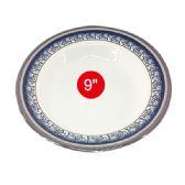 "96 Units of 9"" melamine plate deep"