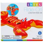 "6 Units of Intex 84""X54"" LOBSTER RIDE-ON W/ HANDLES IN COLOR BOX - SUMMER TOYS"