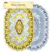 "96 Units of Plastic table mat 16"" - Placemats"