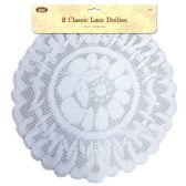 144 Units of Lace Doilies Two Pieces - Placemats and Doilies